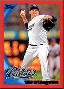 2010 Topps Red Border Tim Stauffer Baseball Card