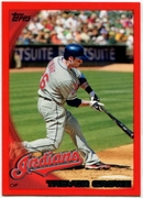 2010 Topps Red Border Trevor Crowe Baseball Card