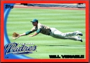 2010 Topps Red Border Will Venable Baseball Card