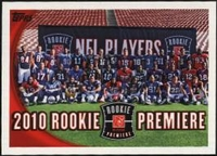 2010 Topps Rookies Premiere NFL Football Card