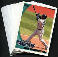 2010 Topps Seattle Mariners Baseball Cards Team Set