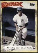 2010 Topps Tales of the Game Let's Play Two Ernie Banks Baseball Card