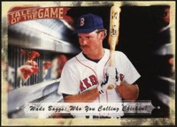 2010 Topps Tales of the Game Who You Calling Chicken? Wade Boggs Baseball Card