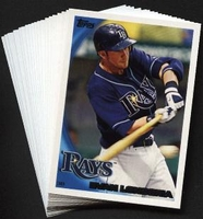 2010 Topps Tampa Bay Rays Baseball Cards Team Set