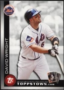 2010 Topps Ticket to Topps Town David Wright Baseball Card