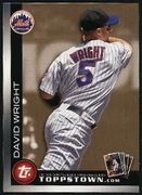 2010 Topps Ticket to Topps Town Gold David Wright Baseball Card