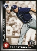 2010 Topps Ticket to Topps Town Gold Evan Longoria Baseball Card