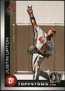 2010 Topps Ticket to Topps Town Gold Justin Upton Baseball Card