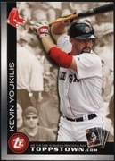 2010 Topps Ticket to Topps Town Gold Kevin Youkilis Baseball Card