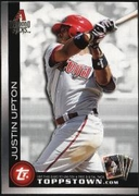 2010 Topps Ticket to Topps Town Justin Upton Baseball Card