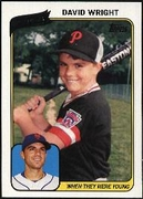 2010 Topps When They Were Young David Wright Baseball Card