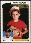 2010 Topps When They Were Young Ricky Nolasco Baseball Card