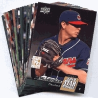 2010 Upper Deck Cleveland Indians Baseball Cards Team Set