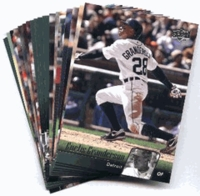 2010 Upper Deck Detroit Tigers Baseball Cards Team Set