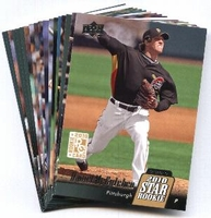 2010 Upper Deck Pittsburgh Pirates Baseball Cards Team Set
