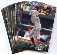 2010 Upper Deck Seattle Mariners Baseball Cards Team Set