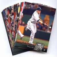 2010 Upper Deck Tampa Bay Rays Baseball Cards Team Set