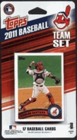 2011 Cleveland Indians Topps MLB Factory Baseball Cards Team Set
