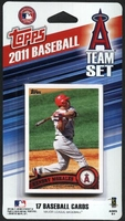 2011 Los Angeles Angels of Anaheim Topps MLB Factory Baseball Cards Team Set