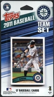 2011 Seattle Mariners Topps MLB Factory Baseball Cards Team Set