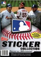 2011 Topps Baseball Sticker Paperback Album