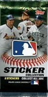 2011 Topps Baseball Stickers Pack