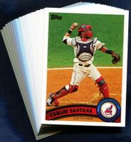 2011 Topps Cleveland Indians Baseball Cards Team Set
