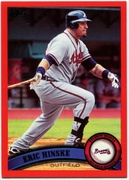 2011 Topps Factory Set Red Border Eric Hinske Baseball Card