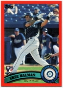 2011 Topps Factory Set Red Border Greg Halman Baseball Card