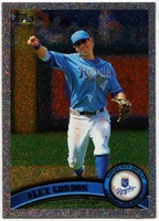 2011 Topps Foilboard Alex Gordon Baseball Card