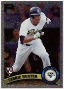 2011 Topps Foilboard Cedric Hunter Baseball Card