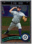2011 Topps Foilboard David Aardsma Mariners Baseball Card