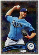 2011 Topps Foilboard James Shields Baseball Card