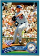 2011 Topps Opening Day Blue Chad Billingsley Baseball Card