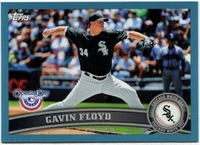 2011 Topps Opening Day Blue Gavin Floyd Baseball Card