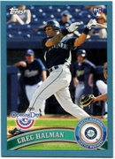 2011 Topps Opening Day Blue Greg Halman Baseball Card