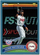 2011 Topps Opening Day Blue Jason Heyward Baseball Card