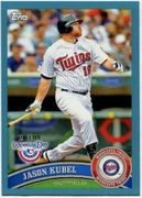 2011 Topps Opening Day Blue Jason Kubel Baseball Card
