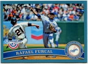 2011 Topps Opening Day Blue Rafael Furcal Baseball Card