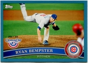 2011 Topps Opening Day Blue Ryan Dempster Baseball Card