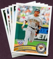 2011 Topps Opening Day Pittsburgh Pirates Baseball Cards Team Set