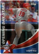 2011 Topps Opening Day Stars 3D Joey Votto Baseball Card