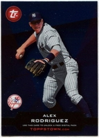 2011 Topps Opening Day Topps Town Codes Alex Rodriguez Baseball Card