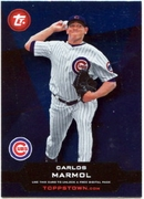 2011 Topps Opening Day Topps Town Codes Carlos Marmol Baseball Card