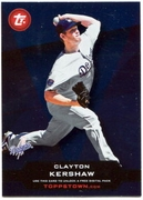 2011 Topps Opening Day Topps Town Codes Clayton Kershaw Baseball Card