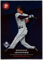 2011 Topps Opening Day Topps Town Codes Desmond Jennings Baseball Card