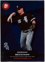 2011 Topps Opening Day Topps Town Codes Gordon Beckham Baseball Card