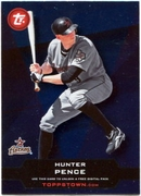 2011 Topps Opening Day Topps Town Codes Hunter Pence Baseball Card