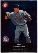 2011 Topps Opening Day Topps Town Codes Ian Desmond Baseball Card