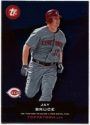 2011 Topps Opening Day Topps Town Codes Jay Bruce Baseball Card
